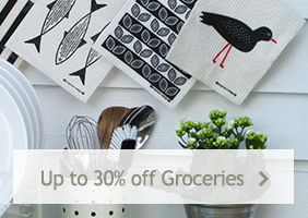 Up to 30% off groceries