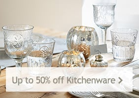 Up to 50% off Kitchenware