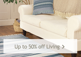 Up to 50% off Living