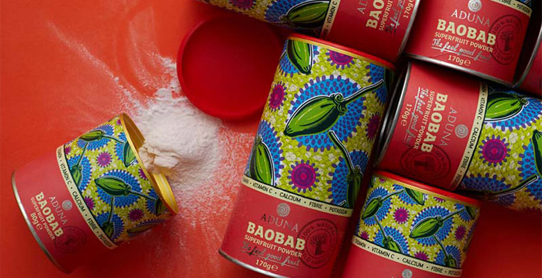 Aduna Baobab superfruit powder for healthy living