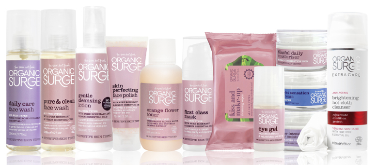 Natural Skin Care from Organic Surge