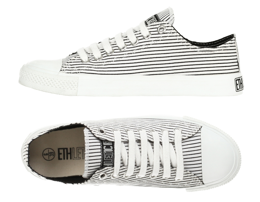 5504725b119447 342501-ethletic-fairtrade-vegan-trainers-black-white-stripes If you are  looking for sneakers in a similar style to converse ...