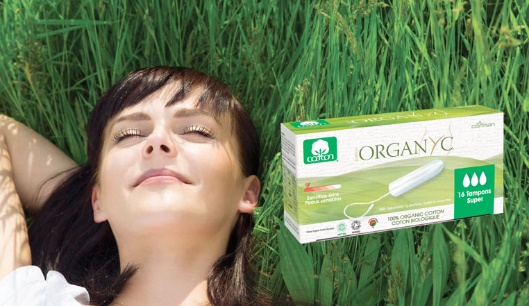 Introducing Organyc Tampons and Pads