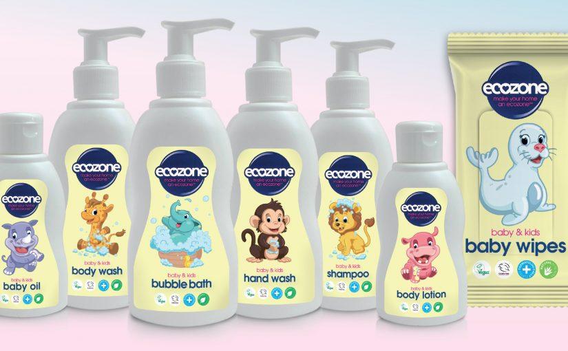 NEW Baby & Kids Bath & Body Care from Ecozone