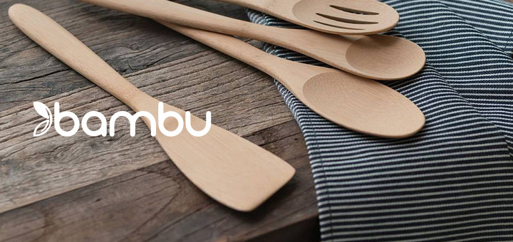 Bambu cooking utensils