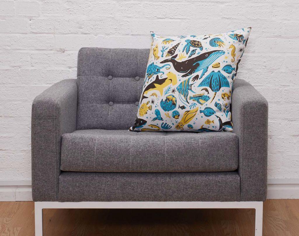 Maemara Ocean Friends Cushion