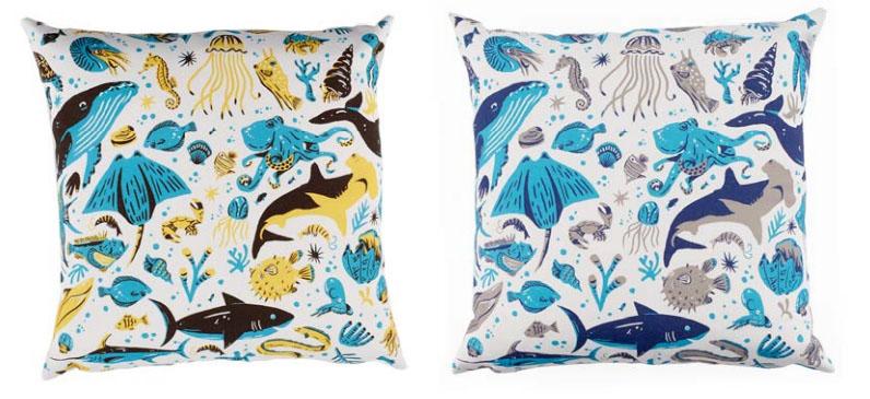 Maemara Ocean Friends Cushions