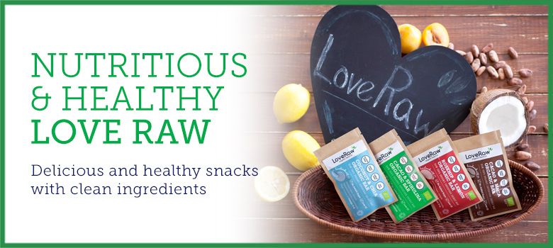 Nutritious & Healthy From Love Raw