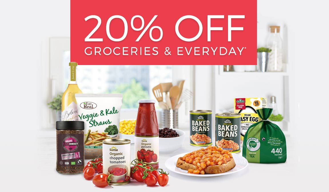 20% Off Groceries & Everyday*