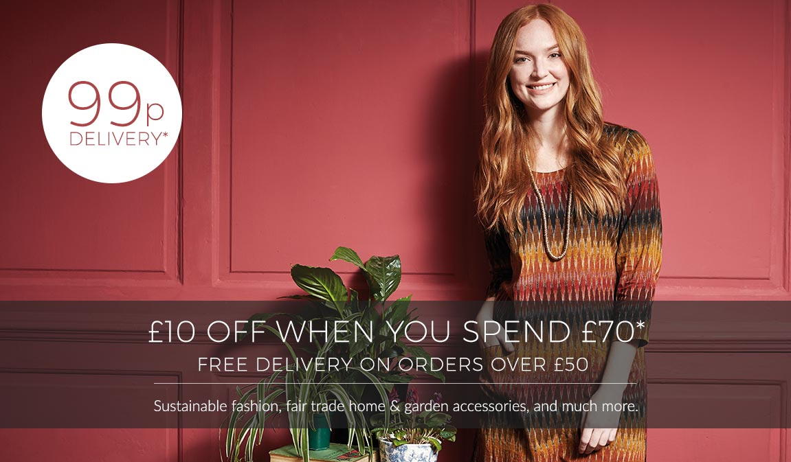 99p Delivery*, Save £10 Off £70* - Use Code X10YFW At Checkout