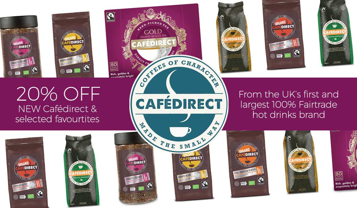 Cafedirect - 20% Off Selected Cafedirect Products*.