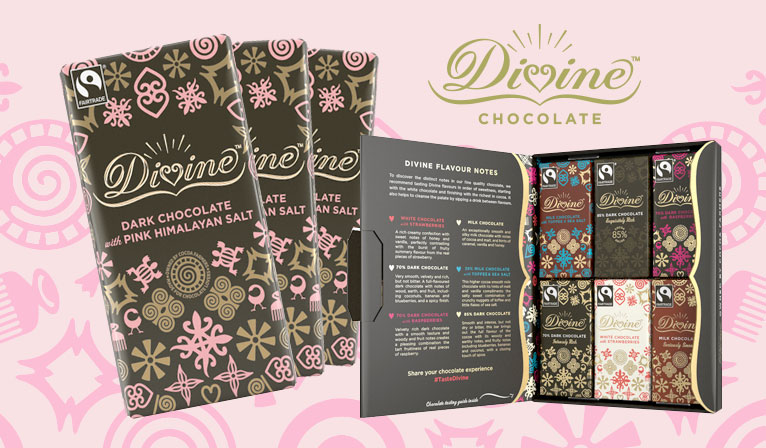 New in from Divine Chocolate
