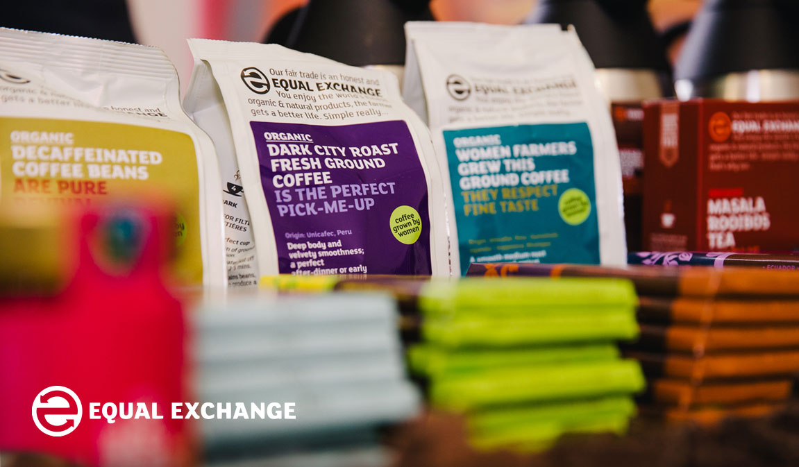 Equal Exchange - Fair trade and organic coffee and chocolate