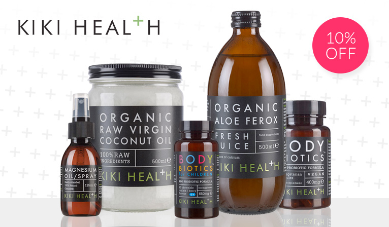 Kiki Health - Buy one get one half price Nutrition - 15% Off Selected Products.