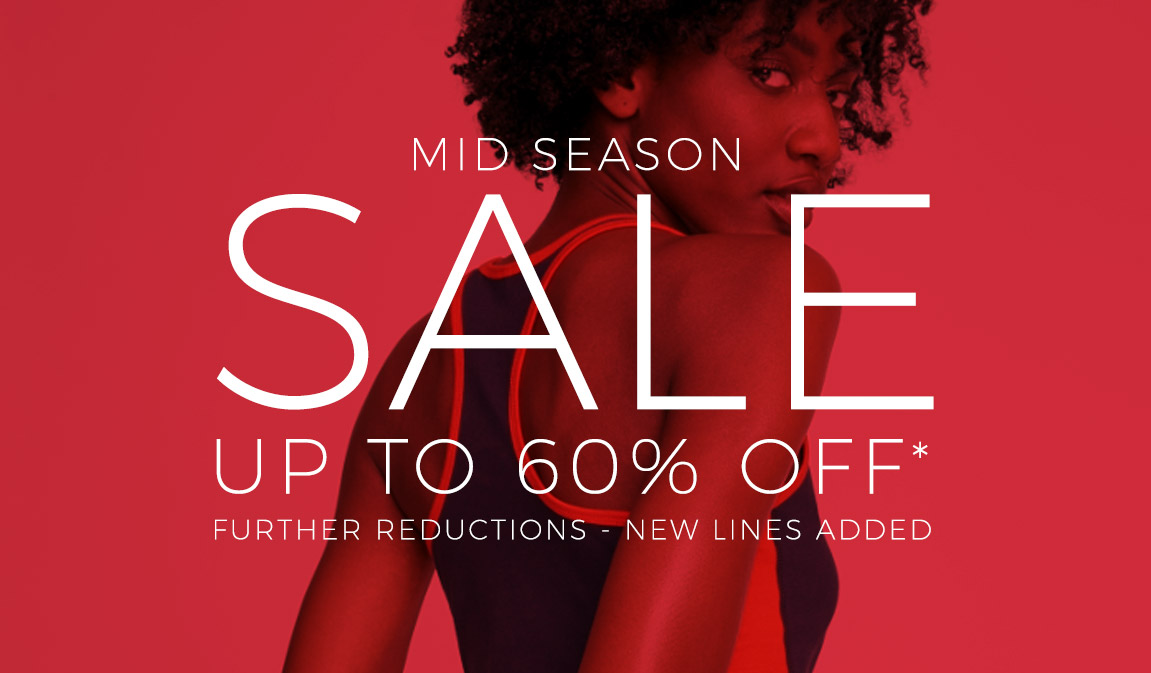 Up To 60% Off - Mid Season Sale*