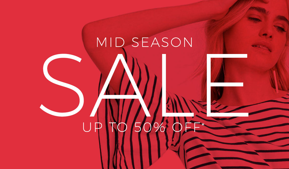 Mid Season Sale - Up To 50% Off*