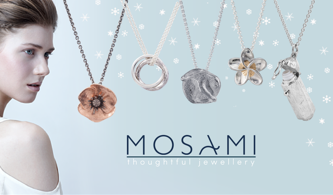 Beautiful ethically sourced jewellery from Mosami