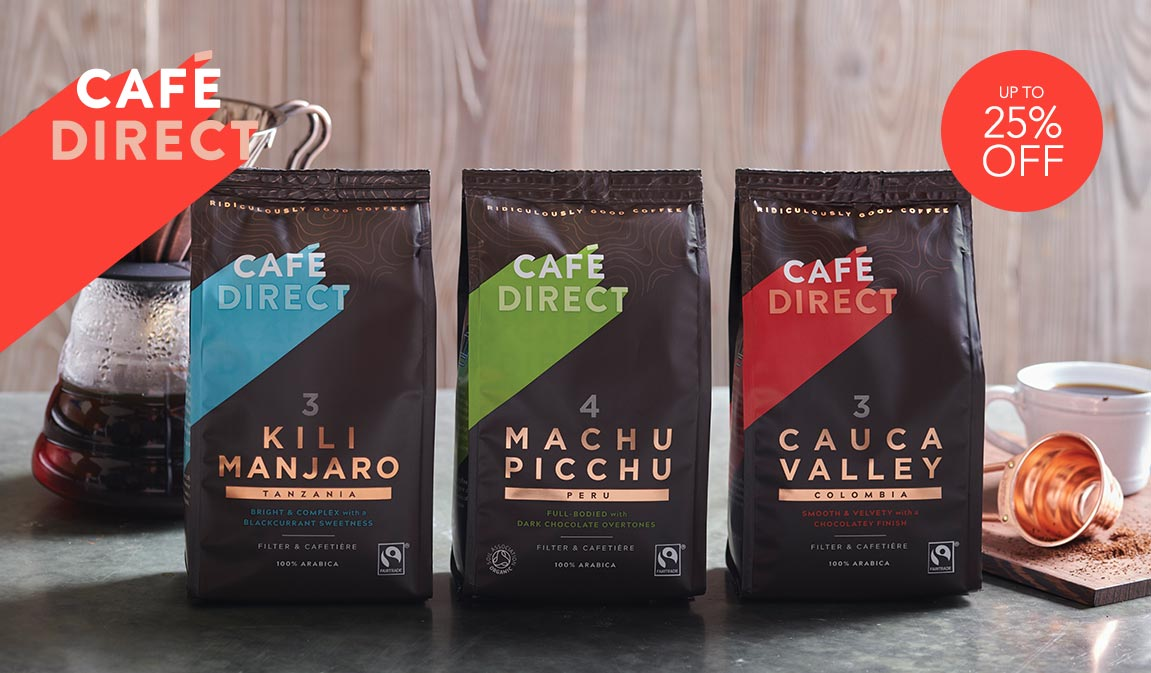 Up To 25% Off Select Cafédirect