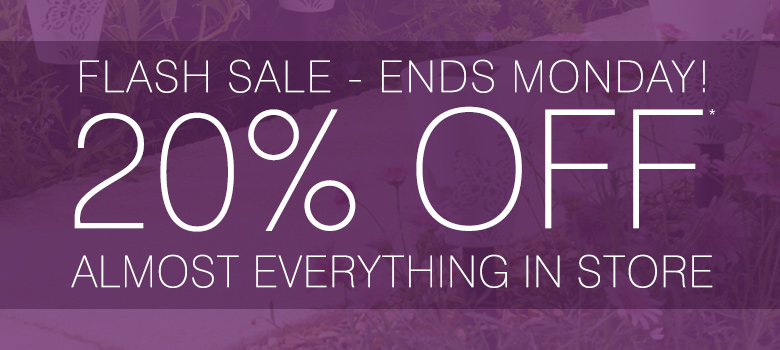 20% off almost everything in store