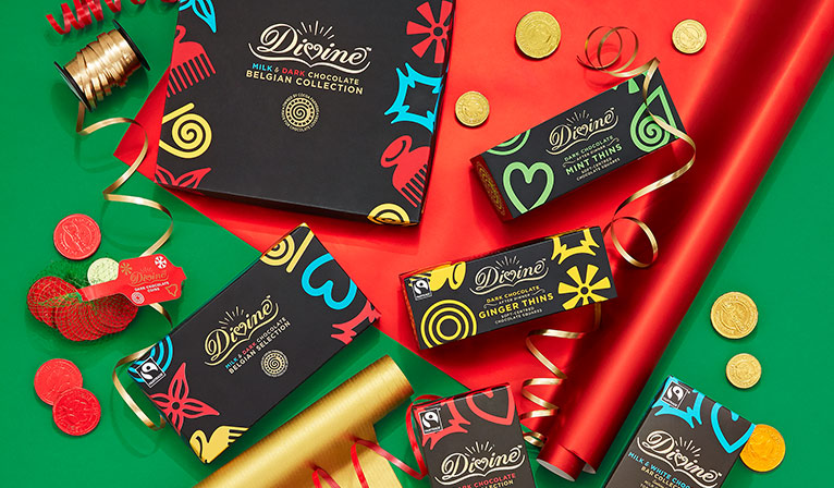 Christmas chocolate treats and gifts from Divine, Montezuma's and more