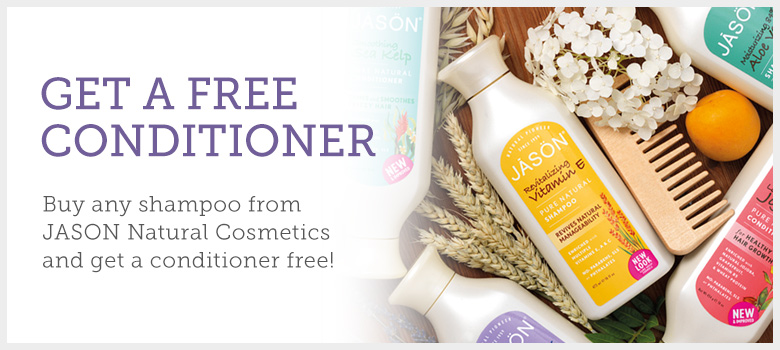Get a free JASON conditioner