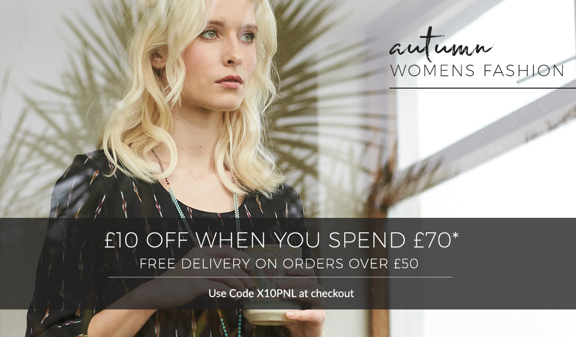 New Autumn Catalogue - £10 Off £70 - Use Code X10PNL