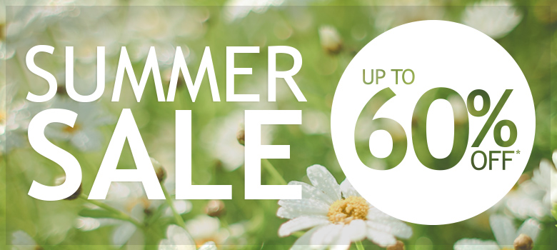 Summer Sale Now On - Up to 60% off across the store*